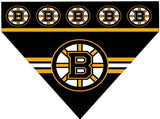 Over the Collar Dog Bandana - Hockey Boston Bruins