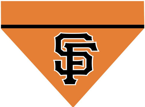 Baseball Dog Bandana - San Francisco Giants LETTERS