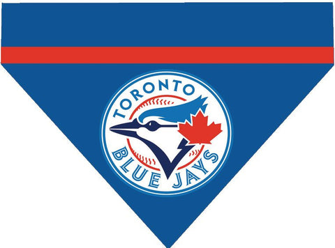 Baseball Dog Bandana - Toronto Blue Jays