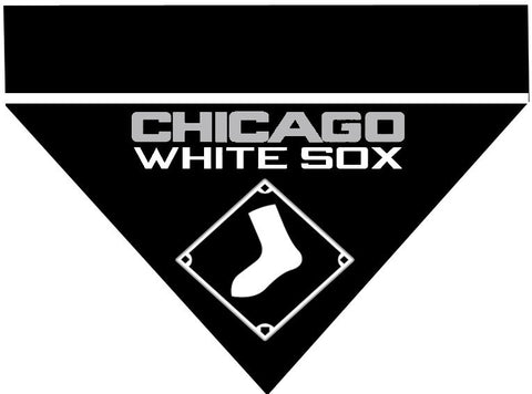 Baseball Dog Bandana - Chicago White Sox
