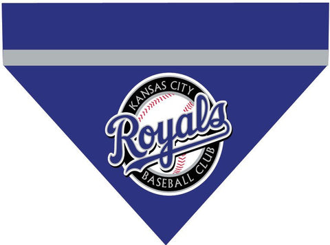 Baseball Dog Bandana - Kansas City Royals