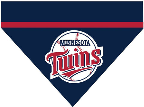 Baseball Dog Bandana - Minnosota Twins