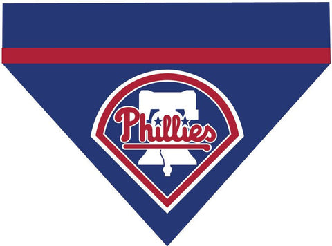 Baseball Dog Bandana - Philadelphia Phillies