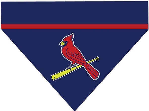 Baseball Dog Bandana - St Louis Cardinals
