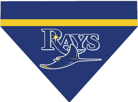 Baseball Dog Bandana - Tampa Bay Rays