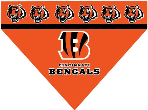 Over the Collar Dog Bandana - NFL Cincinnati Bengals