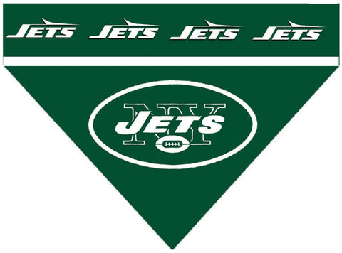 Over the Collar Dog Bandana - NFL New York Jets