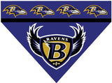 Dog Bandana - NFL Baltimore Ravens