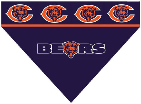 Dog Bandana - Chicago Bears