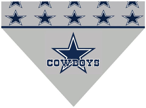 Over the Collar Dog Bandana - NFL Dallas Cowboys