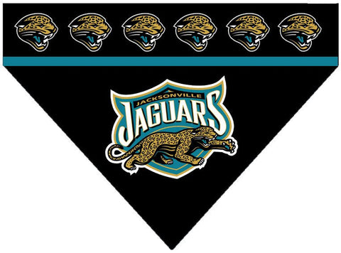 Over the Collar Dog Bandana - Jacksonville Jaguars