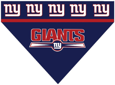 Football Dog Bandana - Giants