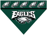 Over the Collar Dog Bandana - NFL Philadelphia Eagles