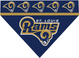 Over the Collar Dog Bandana - St. Louis Rams