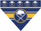 Over the Collar Dog Bandana -  Hockey Buffalo Sabres