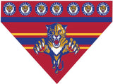 Over the Collar Dog Bandana -  Hockey Florida Panthers
