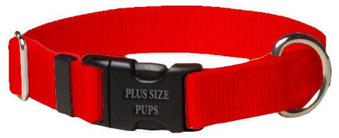 Dog Collar - Nylon Neon Orange