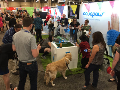 Aquapaw Has Another Great Show at SuperZoo!