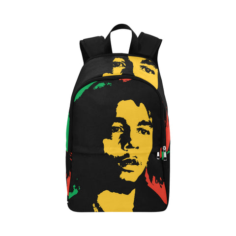 Bob Marley Waterproof Backpack Adult Casual Backpack