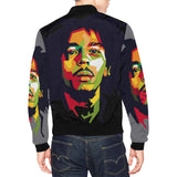 Rasta / Bob Marley / mens casual jackets / jerseys / Full Zip / personalised / jackets for men