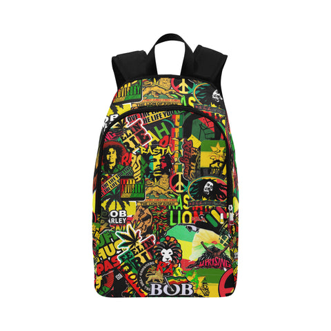 Rasta / Waterproof Backpack / cool backpacks / backpack / Bob Marley