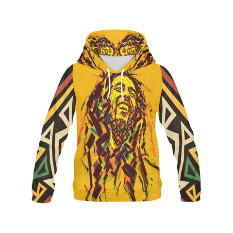 Bob marley 3d hoodie Men's All Over Print Hoodie (USA Sizes)