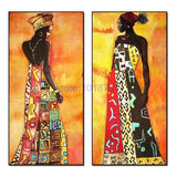 African woman 5D Embroidery Painting