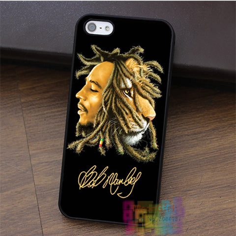 bob marley Rasta lion  cell phone case for iphone