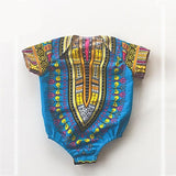 Baby African Dashiki Onesie Cotton