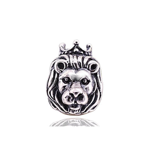 Original Hnadmade 925 sterling silver lion charm bead