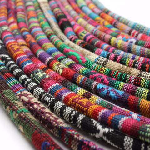 Colourful Handmade 6mm Cords 5 Meter  Long