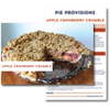 Apple Cranberry Crumble Recipe Card