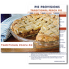 Traditional Peach Pie Recipe Card