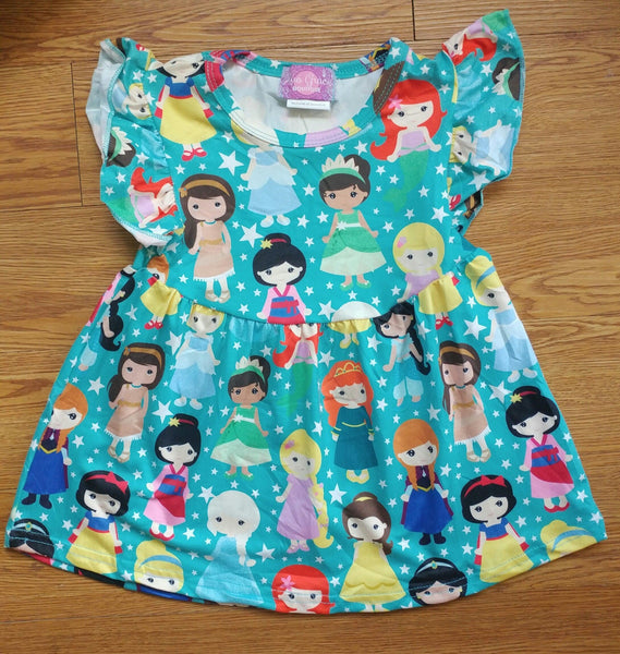 Princess Milk Silk Pearl Dress
