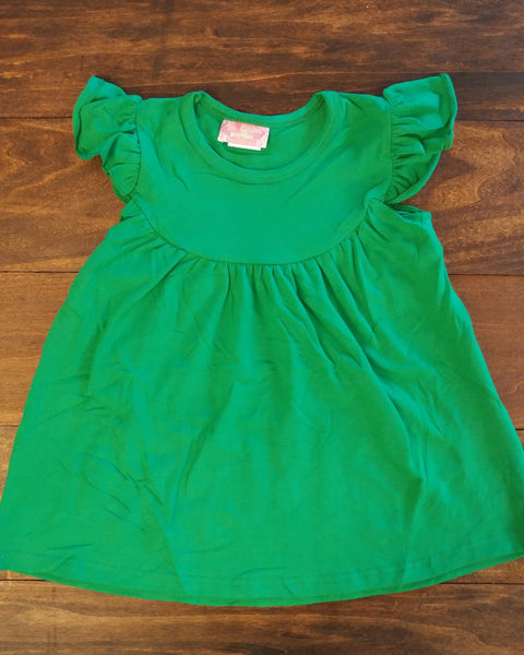 Green Pearl Knit Dress