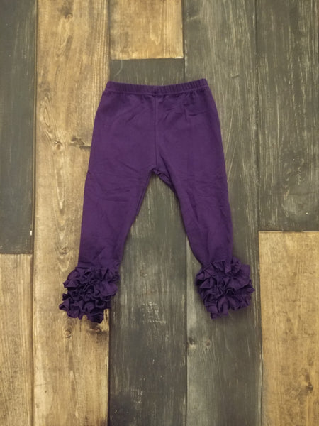 Dark Purple Icing Leggings