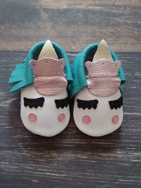 Unicorn Genuine Leather Moccasin