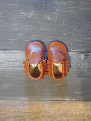 Light Brown Genuine Leather Moccasin