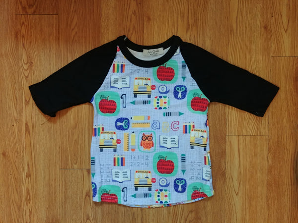Back To School Unisex Raglan Shirt