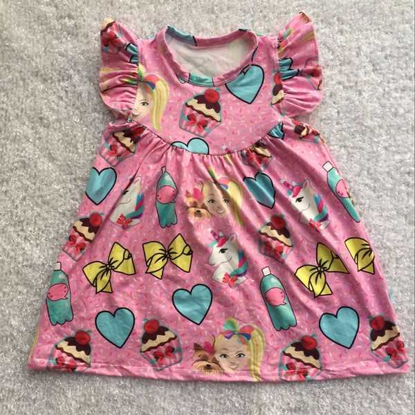 JoJo Siwa Milk Silk Pearl Dress - preorder only