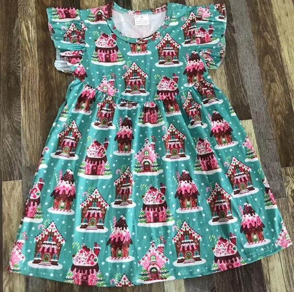 Gingerbread Pearl Dress