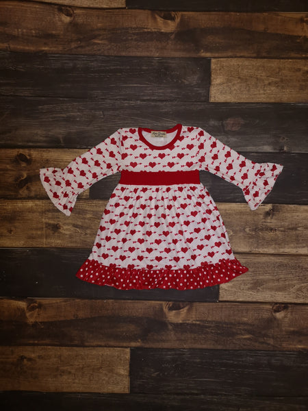Cupid Valentine's Dress with Ruffles
