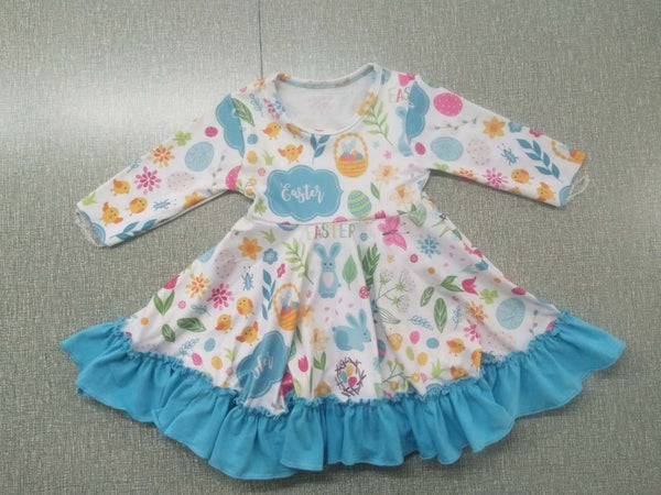 Easter Twirly Dress