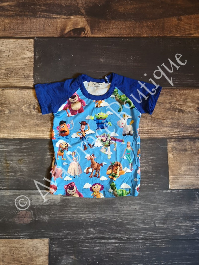 Blue Toy Story Inspired Tee