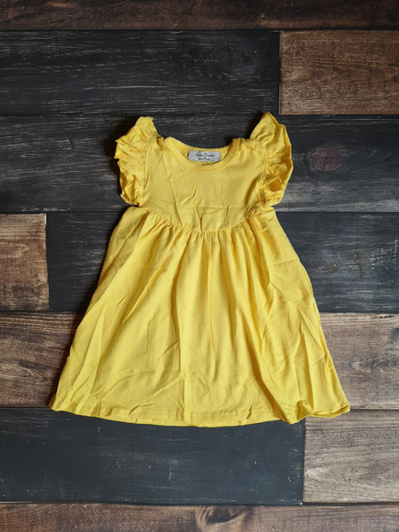 Yellow Pearl Dress
