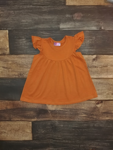 Orange Pearl Knit Dress