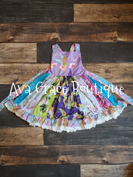 Everything Tinkerbell Inspired Twirly Dress