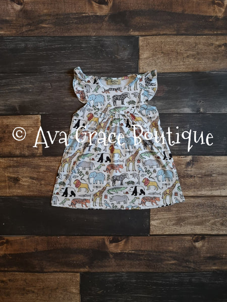 Zoo Animals Pearl Dress
