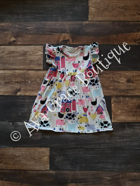 Farm Animals Pearl Dress