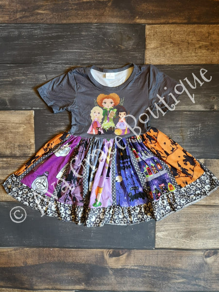 Hocus Pocus Inspired Dress